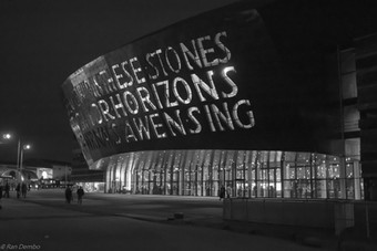 The Wales Millennium Centre, Cardiff, UK