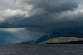 View from road RV17, Norway