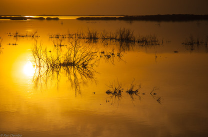 Sunrise in the Dead Sea, Israel