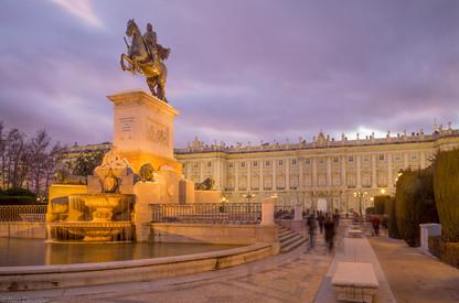 Monument to Philip IV, Madrid, Spain