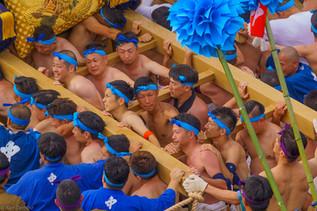 Nada no Kenka Festival, in Himeji