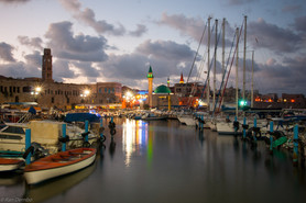 Acre (Akko) Fishing Harbor, Israel