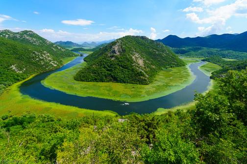 Green Pyramid, Skadar Lake, Montenegro