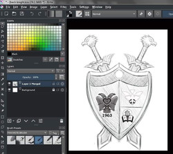 GE Shield Prelim Sketch