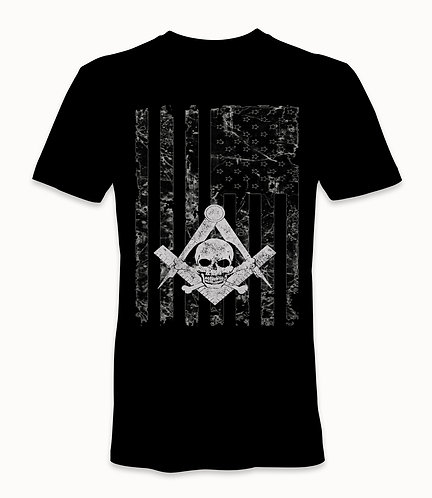 FreeMason USA Flag T-Shirt