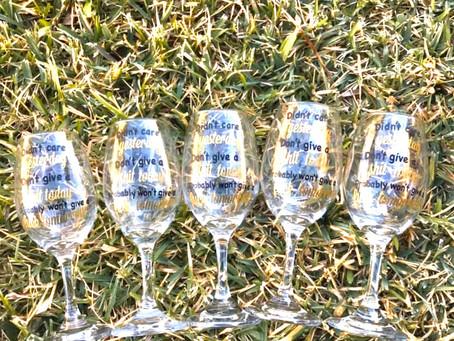 Personalized Wine Glass!