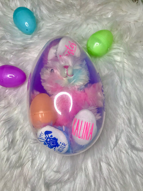 Personalized Easter Jumbo Eggs,  Personalized Easter Eggs, Jumbo Easter Eggs