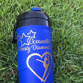 Personalized tumbler for a very special girl