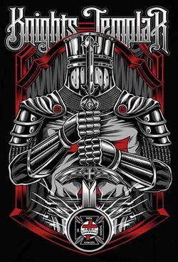 Knights Templar Colored