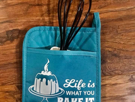 Personalized Pot holders!