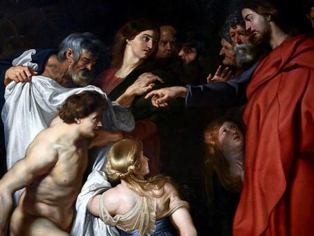 Nedeľná kázeň o Lazárovi