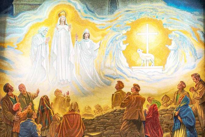 Marianske zjavenia: Írsko, Knock
