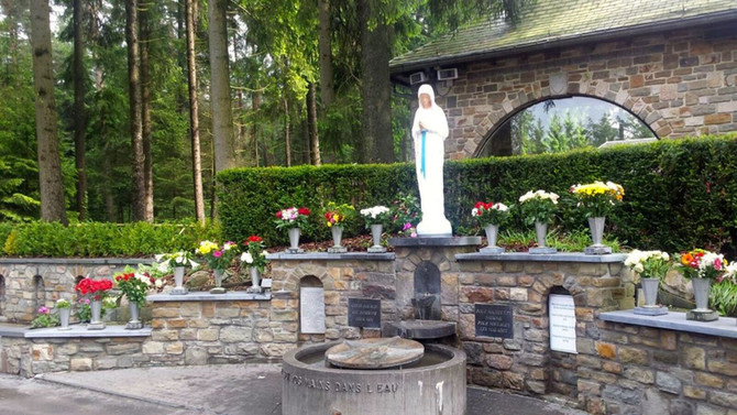 Mariánske zjavenia: Belgicko, Banneux