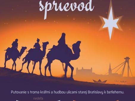 Do Bratislavy prídu traja králi
