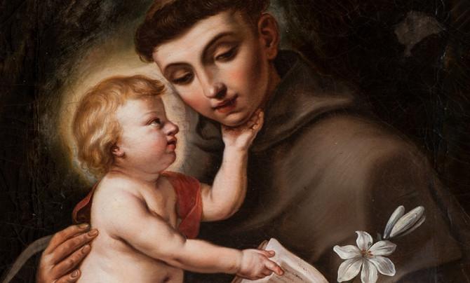 Odkiaľ vzal sv. Anton ľaliu adieťatko?