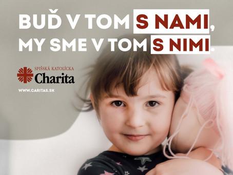 Online jarná zbierka na charitu