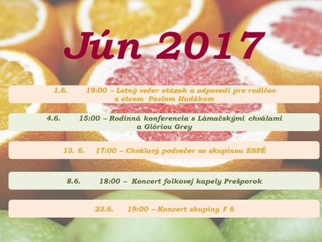 Jún 2017 v Gospel Café