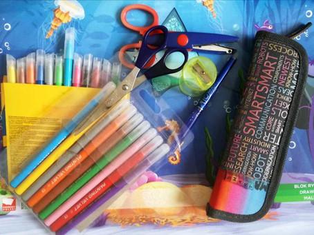 Požehnanie školských potrieb