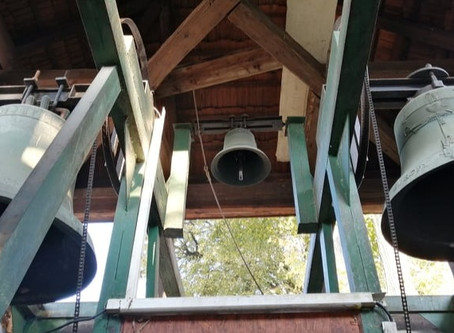 Práce na zvonoch v Dravciach pokročili