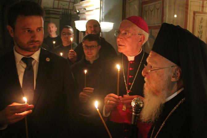 Ekumenický patriarcha navštívil minoritov