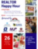 Realtor Happy Hour Event Flyer March 202