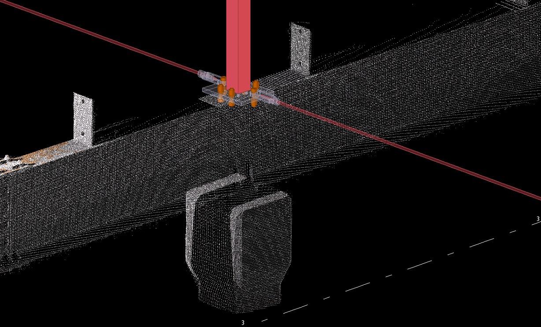 Partial 3D scan