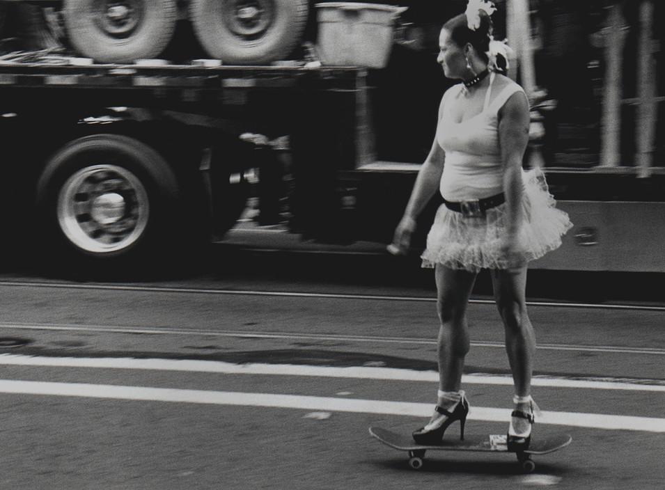 High Heel Skatebording 2004