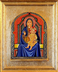 Madonna in trono con Bambino