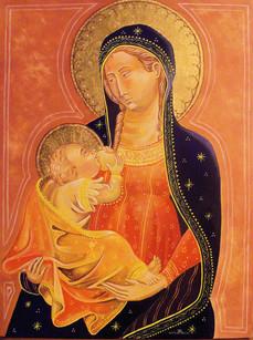 Madonna con Bambino Stile 400' attualizzato