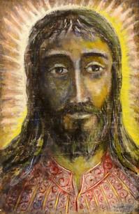 Gesù vestito a festa