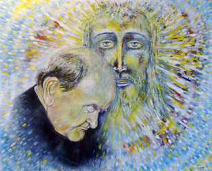Luce nella Luce , Padre ildebrando con i
