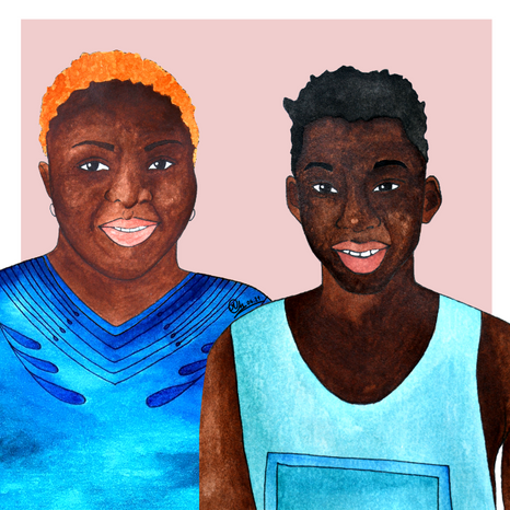 Jida et son fils