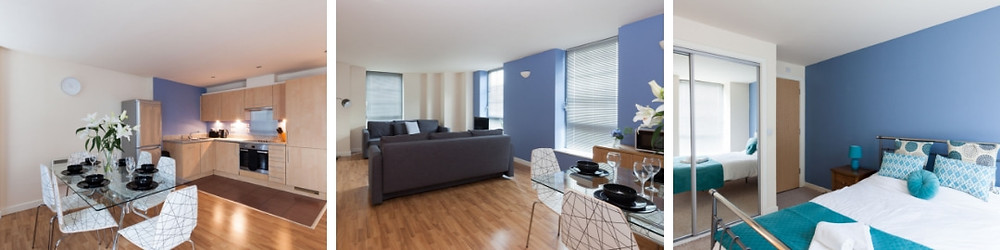 Nottingham Football short breaks blog - serviced apartment near the train station