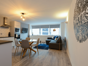 Marco Island - a super modern serviced apartment in Nottingham city centre managed by Prim Short Stays