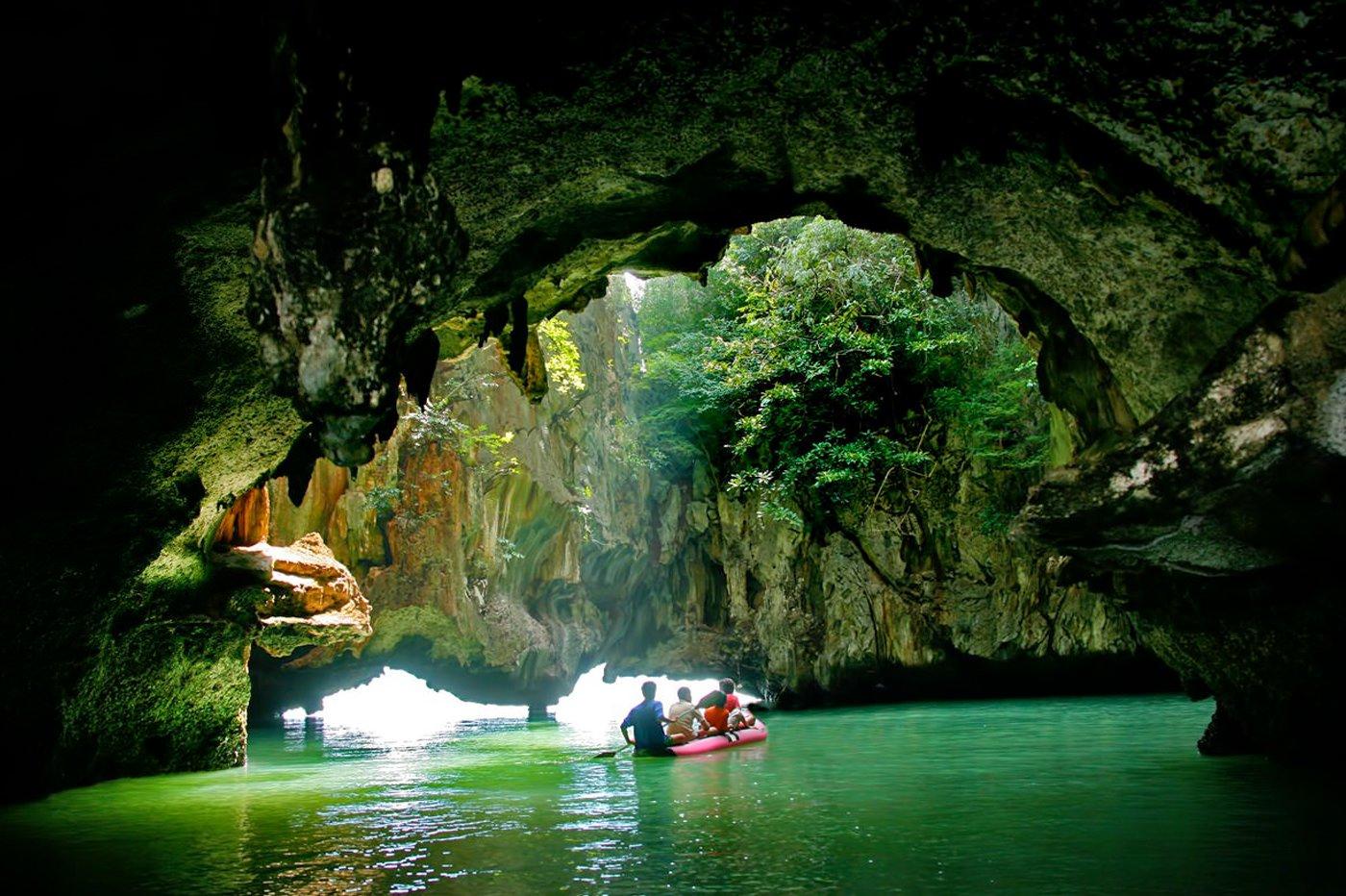 Phang Nga Cave Canoe &James Bond I