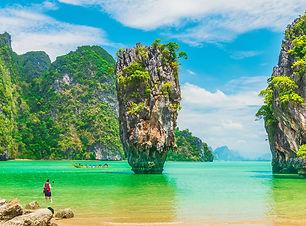 James Bond Island-Phang nga Bay-Thailand