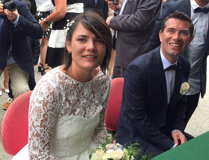 Tout nos vœux aux jeunes mariés
