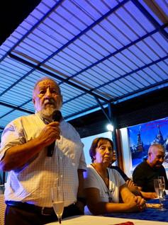 BIENVENIDA A LA REUNION POR JORGE RUILOV