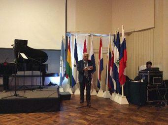 José Hidalgo S. Presidente  Saliente participa en la inauguración del 6to. Encuentro de FELAPEREACU en Viña Mar – Octubre de 2017