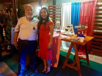 JORGE RUILOVA ACEVEDO Y SU HIJA GABITA R