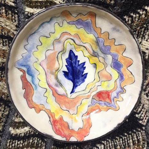 leaf energy plate