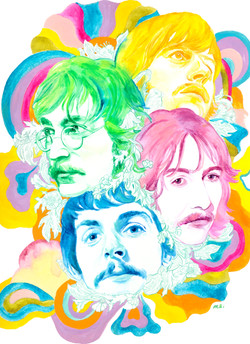 The Beatles in the psychedelic era