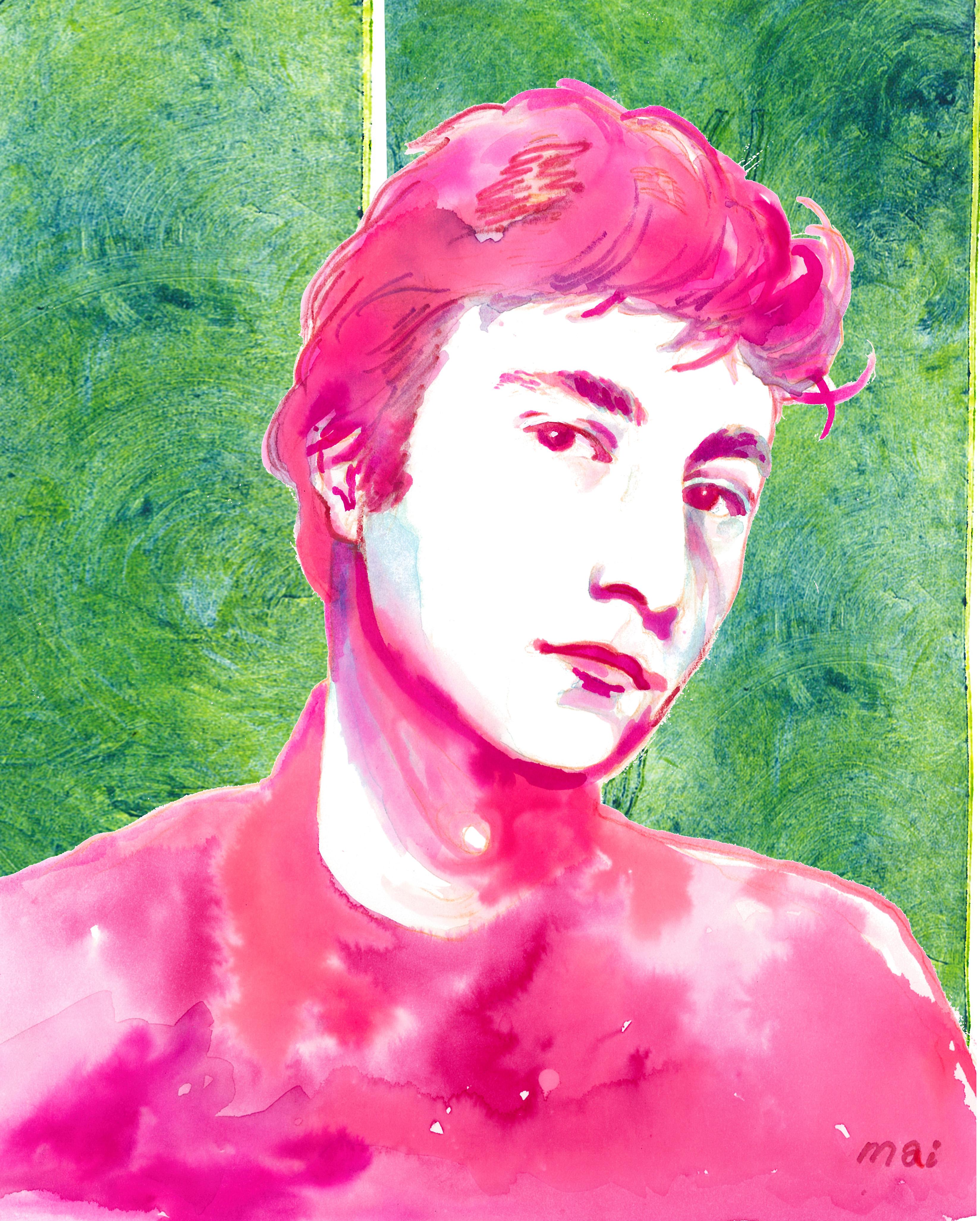 john-green-pink