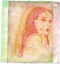 a girl in echos