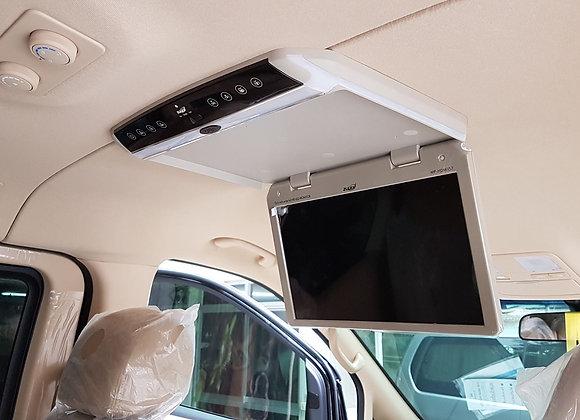 ทีวีเพดานติดรถยนต์ จอ LCD 15.6 นิ้ว Zulex MP-HDMI 156