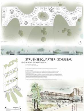Competition Struenseequartier School