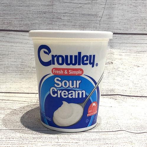 Sour Cream- Crowley 16 oz