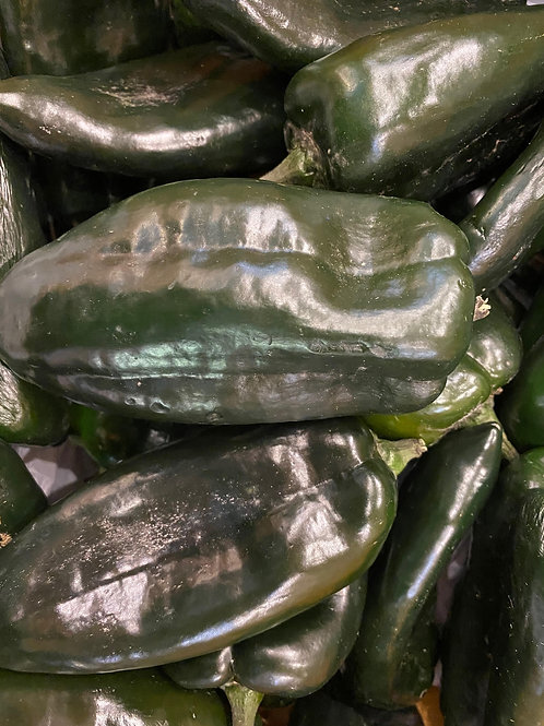 Peppers- Poblano