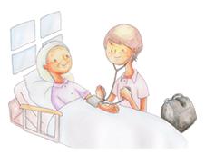 患者様、ケアマネジャー様と、 在宅医療の現場で共有したい、医療の知識