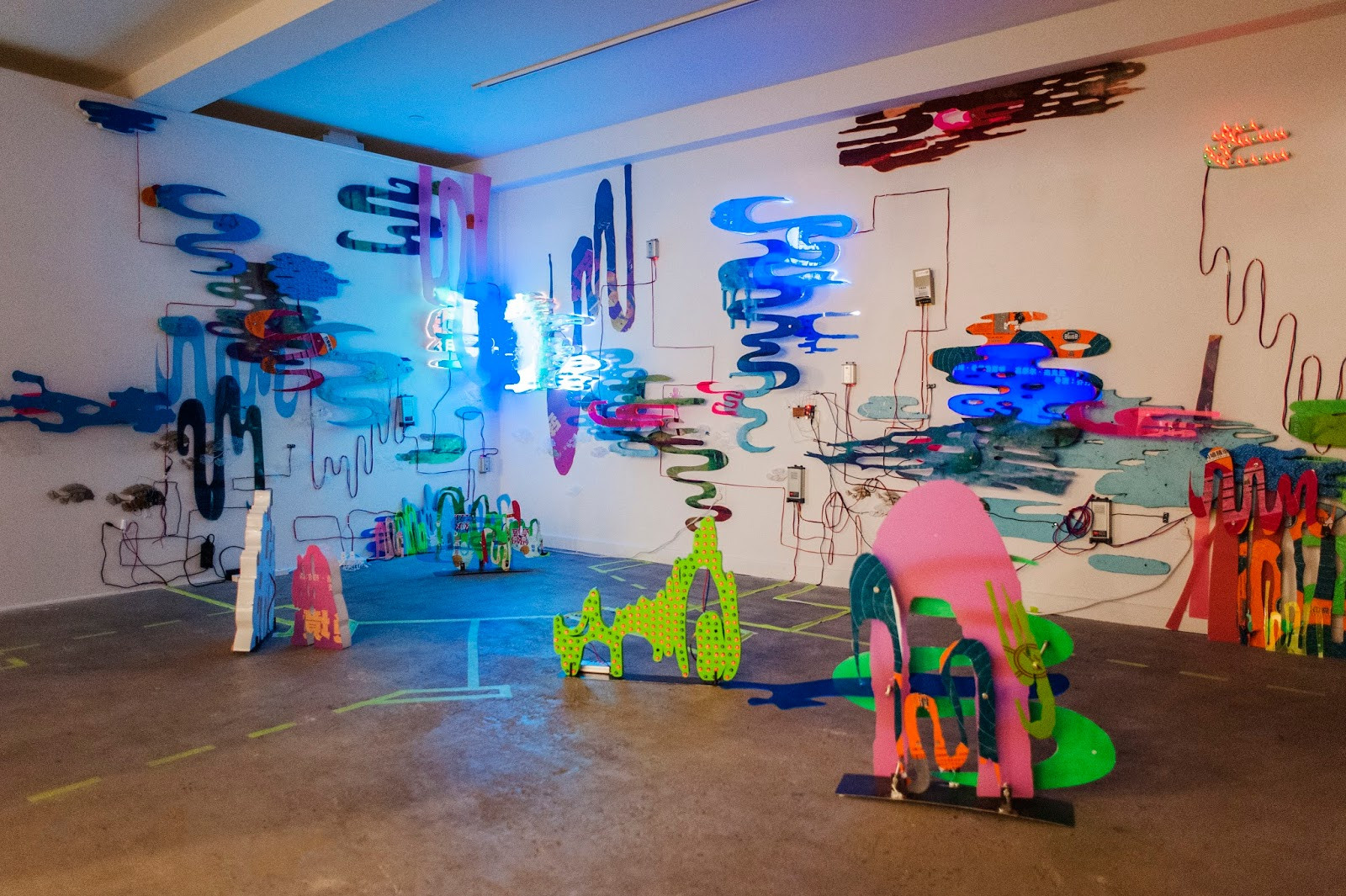 """River of plastic"" - Monika Lin"